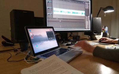 Comencem el muntatge del segon CD d'audiollibres