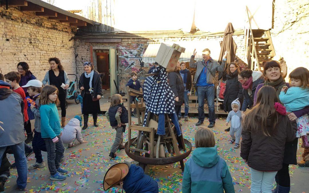 Recull de fotos de la festa de Carnestoltes i el testament del Rei