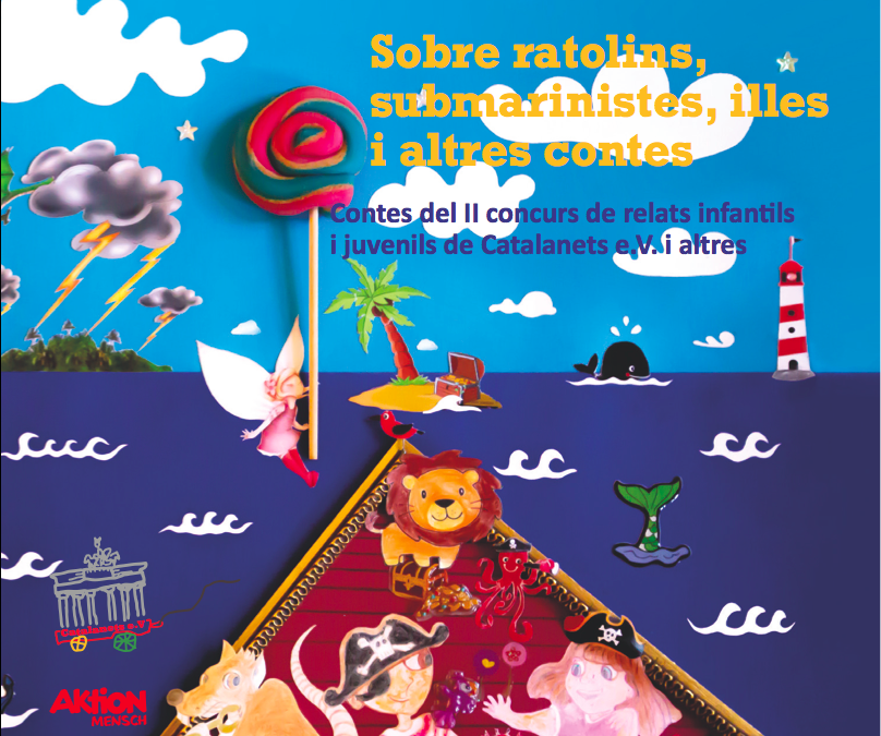 Diumenge 5 de maig: Presentació del segon CD d'audiollibres de Catalanets, e.V!!!